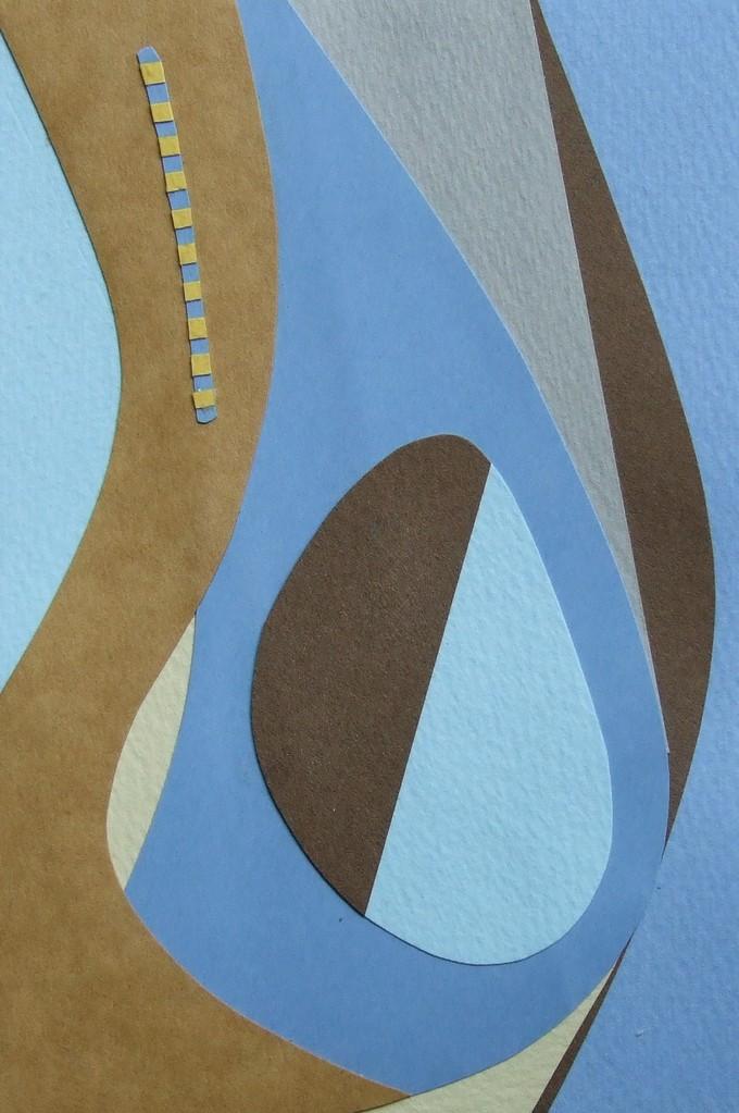 papier collé  070/1001  (150mmx100mm )   2012.10.16.  norio