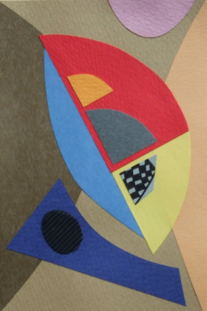 papier collé  161/1001  (150mmx100mm )   2012.11.11.  norio