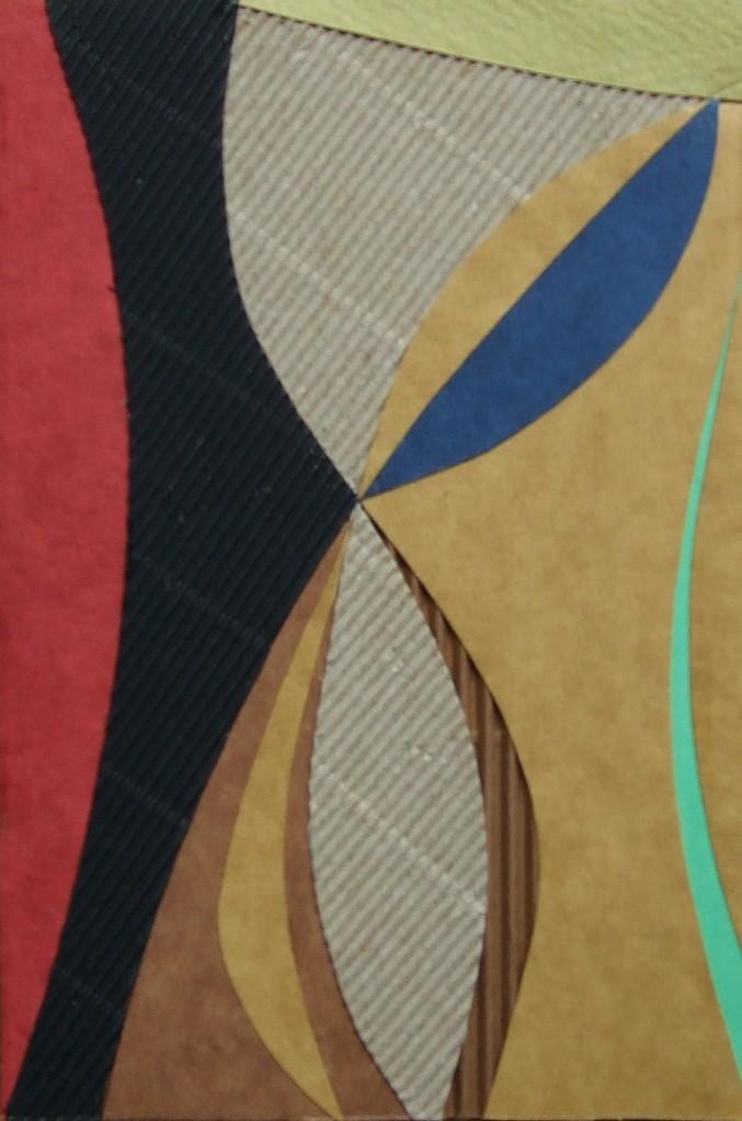 papier collé  116/1001  (150mmx100mm )   2012.10.27.  norio