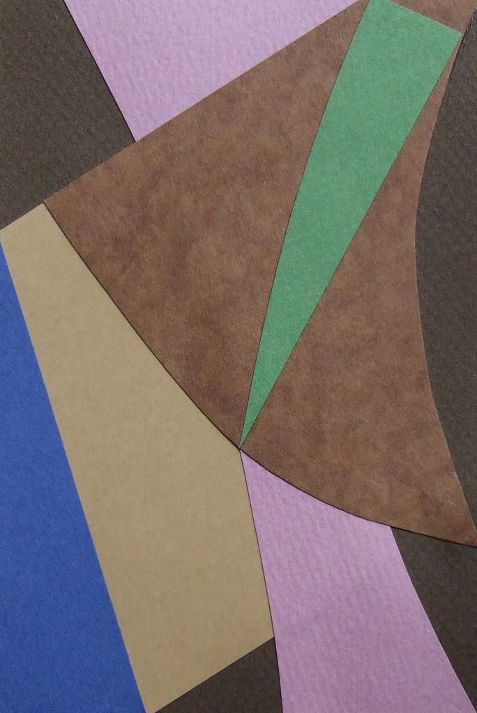 papier collé  073/1001  (150mmx100mm )   2012.10.17.  norio
