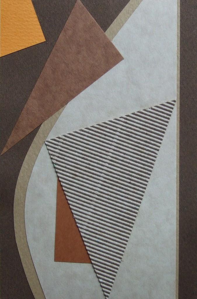 papier collé  072/1001  (150mmx100mm )   2012.10.17.  norio