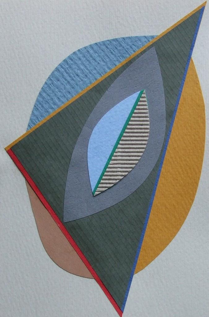 papier collé  046/1001  (150mmx100mm )   2012.10.10.  norio