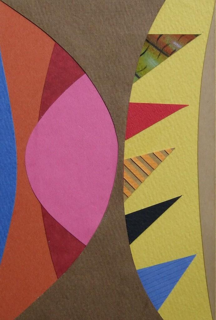 papier collé  101/1001  (150mmx100mm )   2012.10.24.  norio