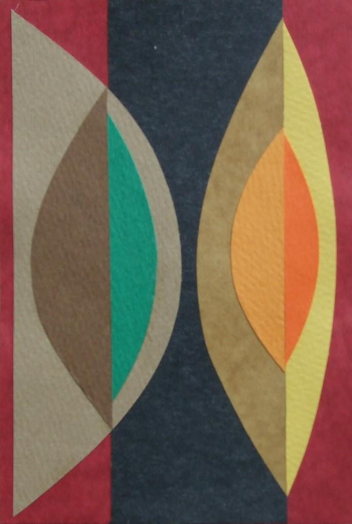 papier collé  103/1001  (150mmx100mm )   2012.10.24.  norio