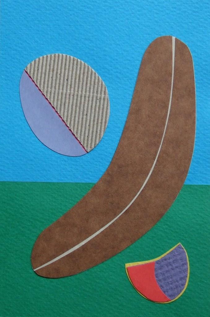 papier collé  060/1001  (150mmx100mm )   2012.10.14.  norio