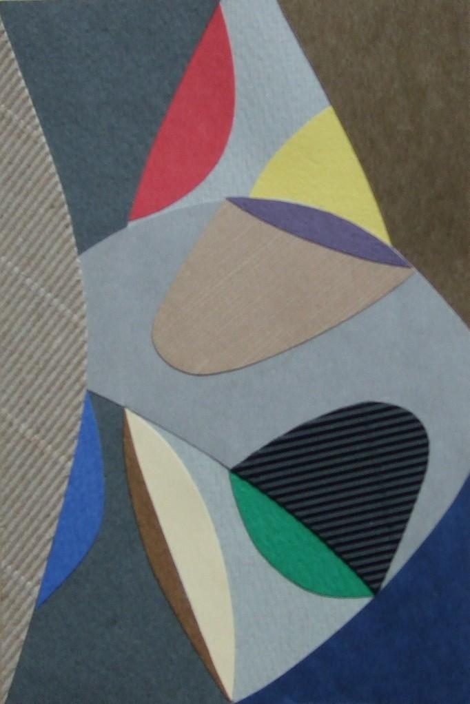 papier collé  148/1001  (150mmx100mm )   2012.11.06.  norio