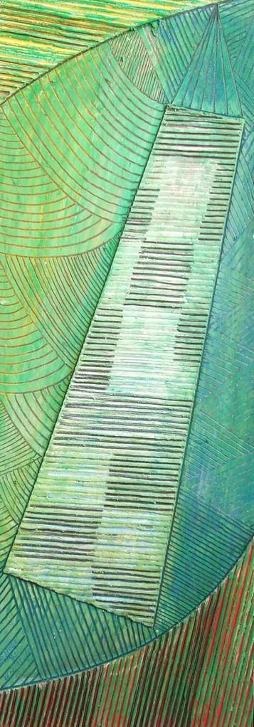 papier collé  498/1001  (402.5mmx148.5mm )   2013.11.16.  norio