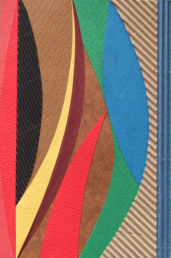 papier collé  212/1001  (150mmx100mm )   2012.12.29.  norio