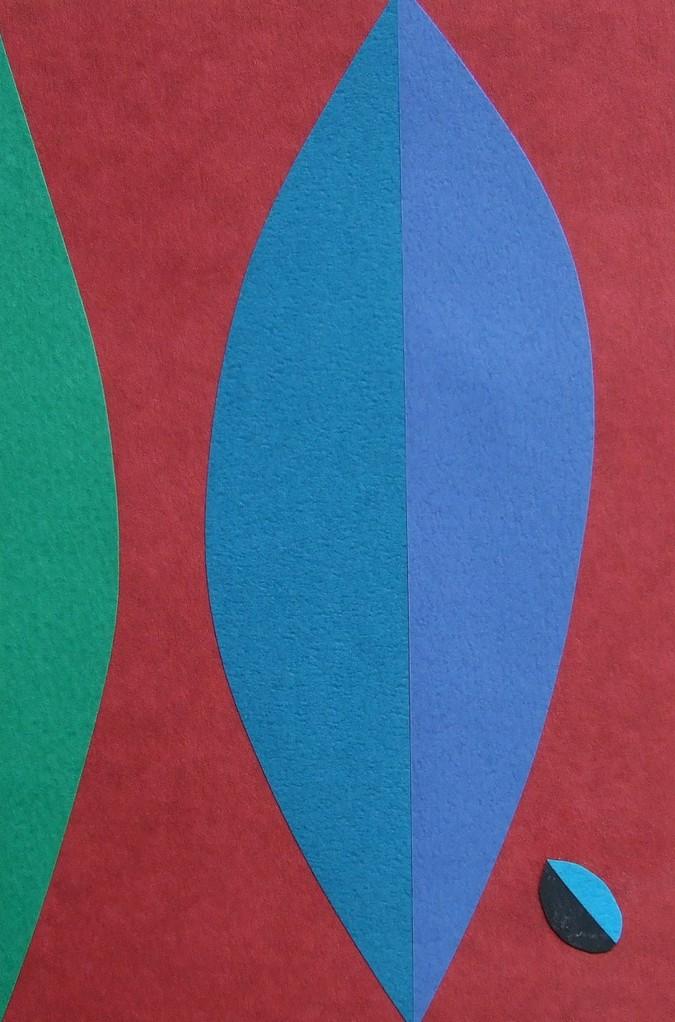 papier collé  038/1001  (150mmx100mm )   2012.10.08.  norio