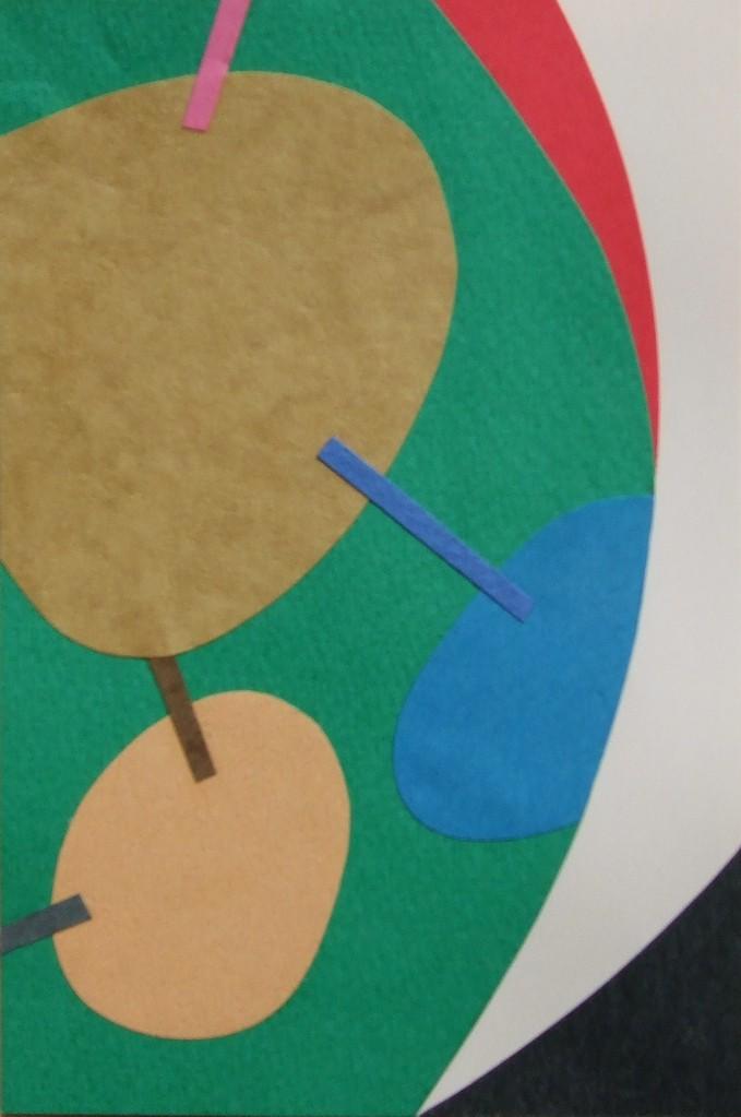 papier collé  185/1001  (150mmx100mm )   2012.11.23.  norio