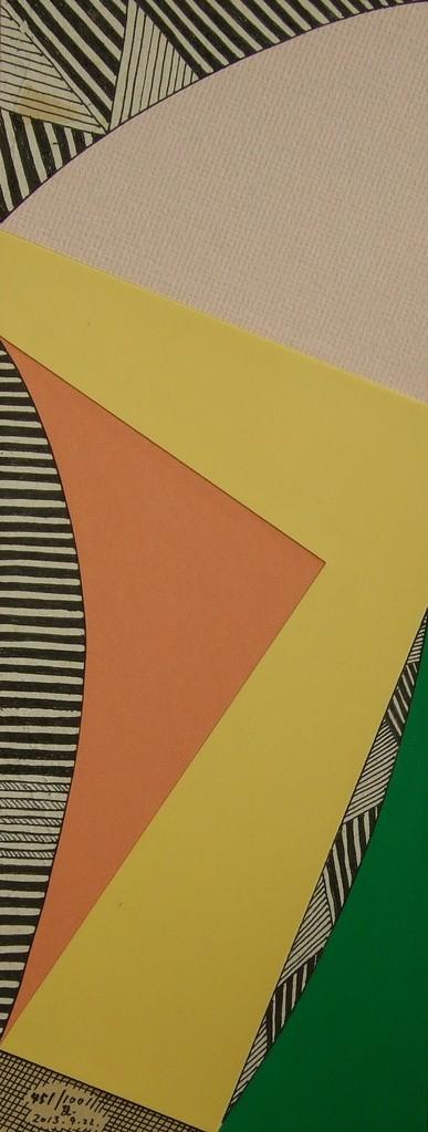 papier collé  451/1001  (550mmx212mm )   2013.09.22.  norio