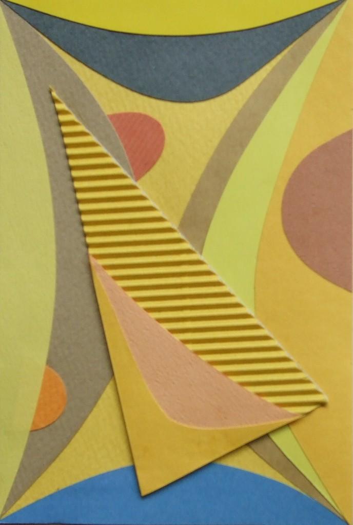 papier collé  154/1001  (150mmx100mm )   2012.11.09.  norio