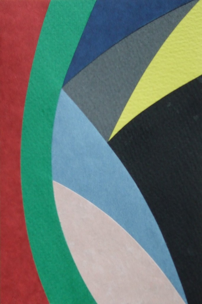 papier collé  139/1001  (150mmx100mm )   2012.11.03.  norio