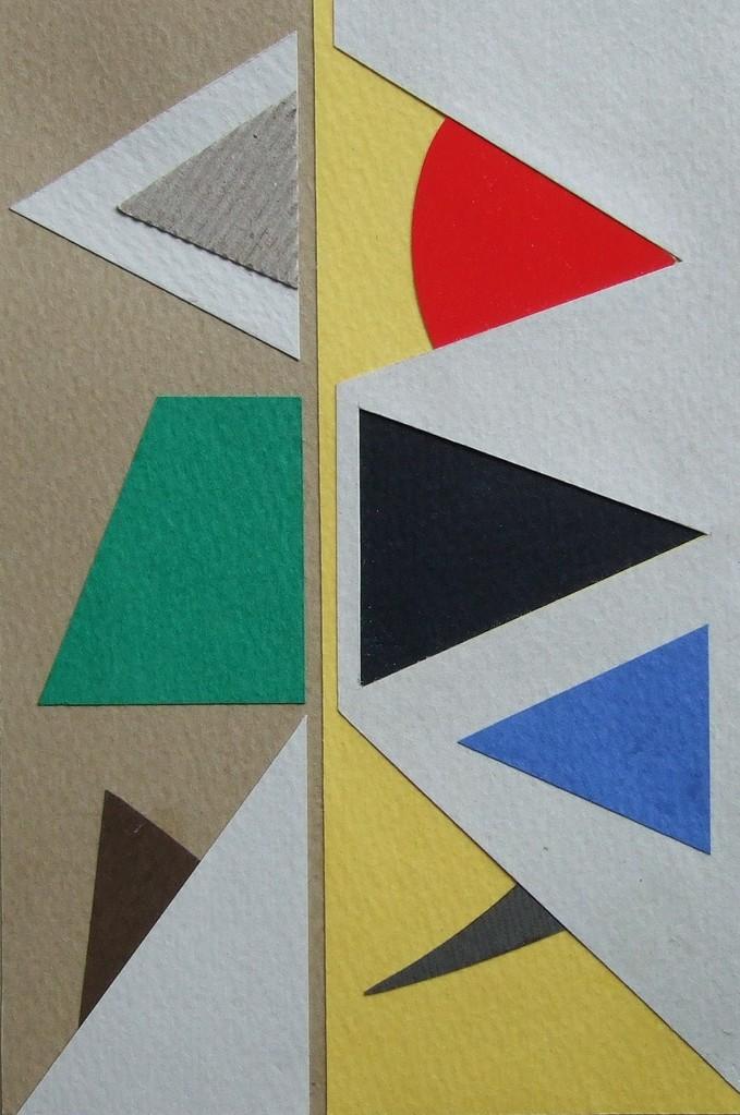 papier collé  100/1001  (150mmx100mm )   2012.10.24.  norio