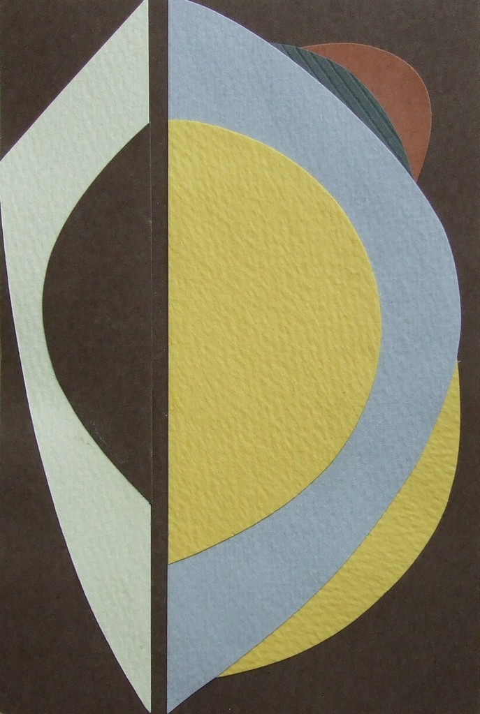 papier collé  078/1001  (150mmx100mm )   2012.10.18.  norio