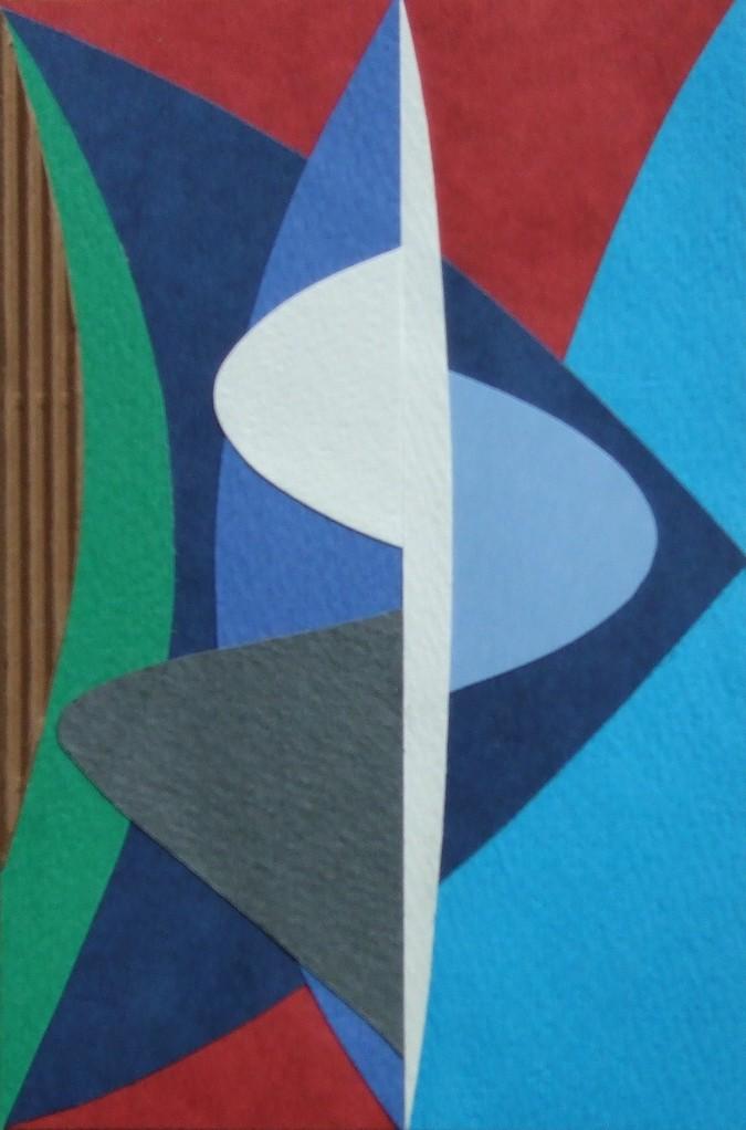 papier collé  137/1001  (150mmx100mm )   2012.11.02.  norio