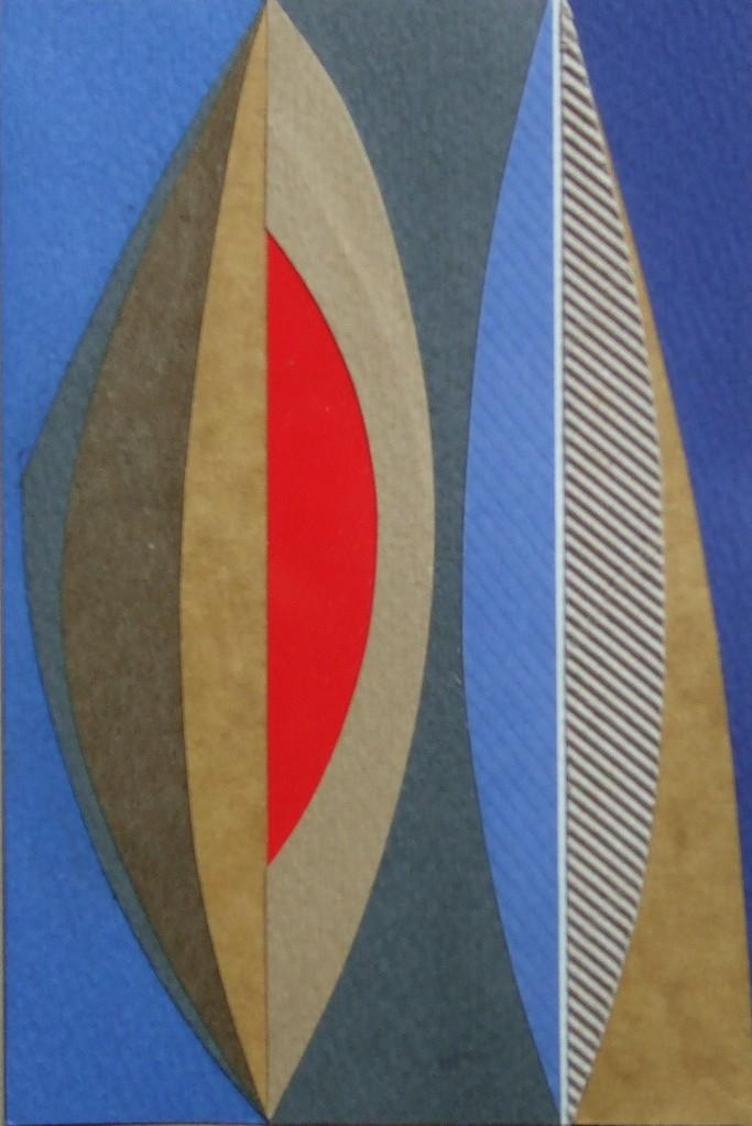 papier collé  136/1001  (150mmx100mm )   2012.11.02.  norio