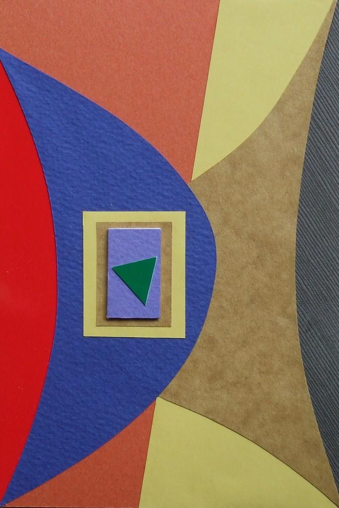 papier collé  093/1001  (150mmx100mm )   2012.10.22.  norio
