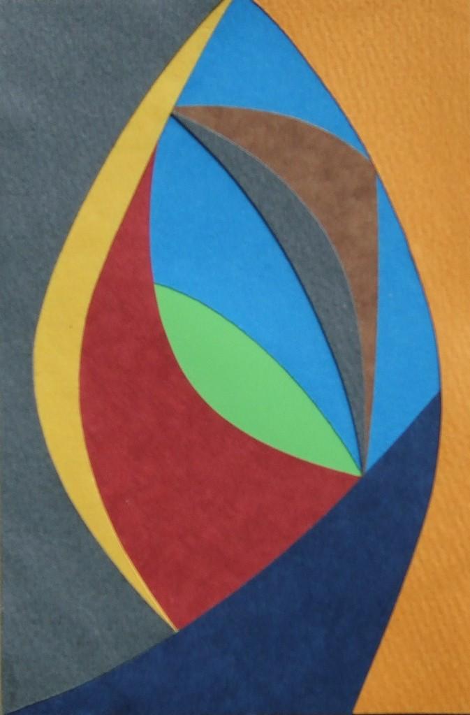 papier collé  138/1001  (150mmx100mm )   2012.11.03.  norio