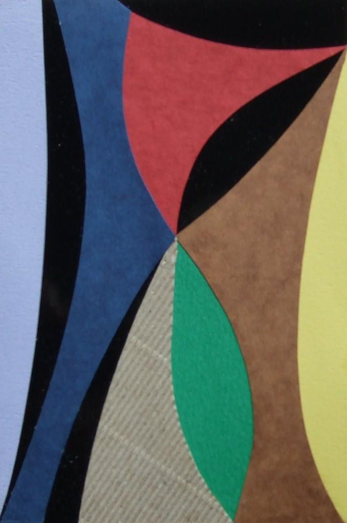 papier collé  117/1001  (150mmx100mm )   2012.10.27.  norio