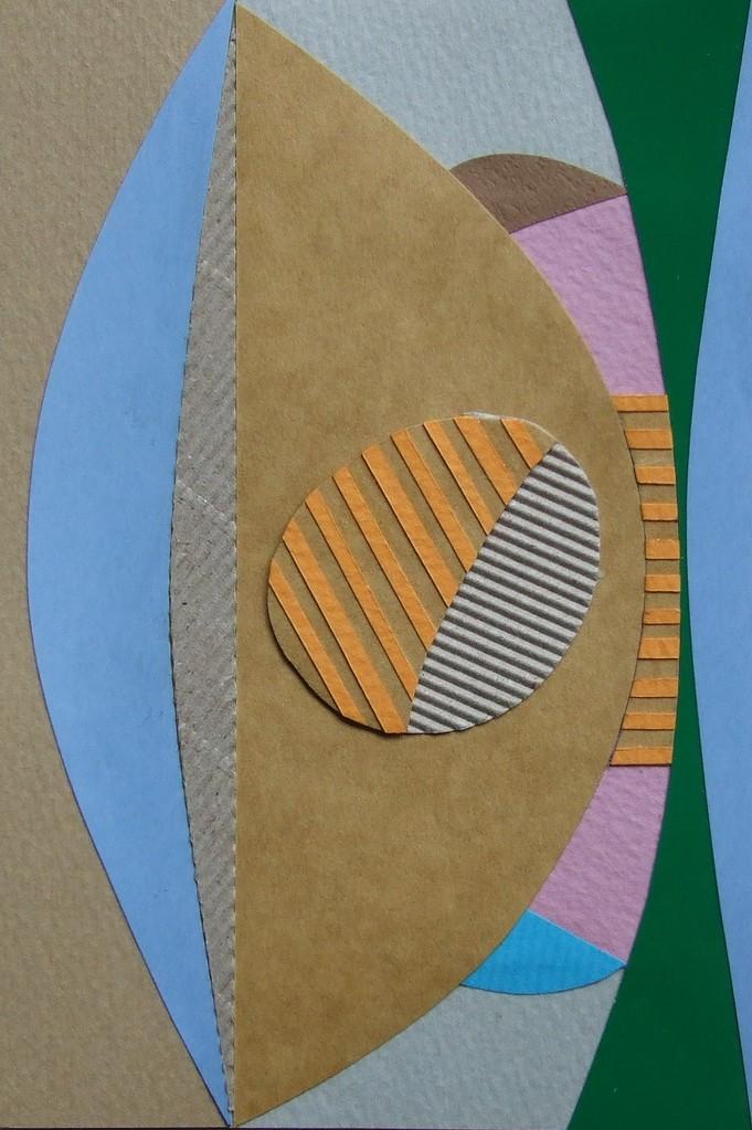 papier collé  069/1001  (150mmx100mm )   2012.10.16.  norio