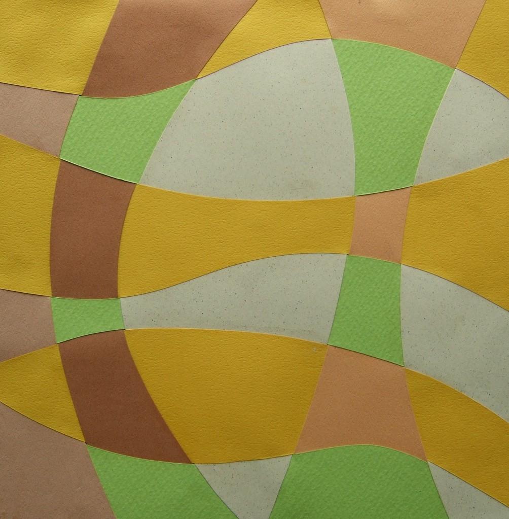 papier collé  307/1001  (210mmx210mm )   2013.03.06.  norio