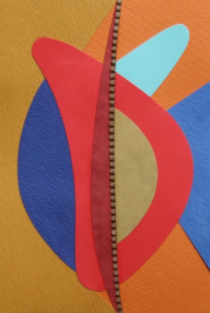 papier collé  183/1001  (150mmx100mm )   2012.11.22.  norio