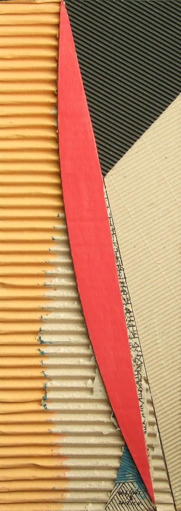 papier collé  496/1001  (402.5mmx148.5mm )   2013.11.11.  norio