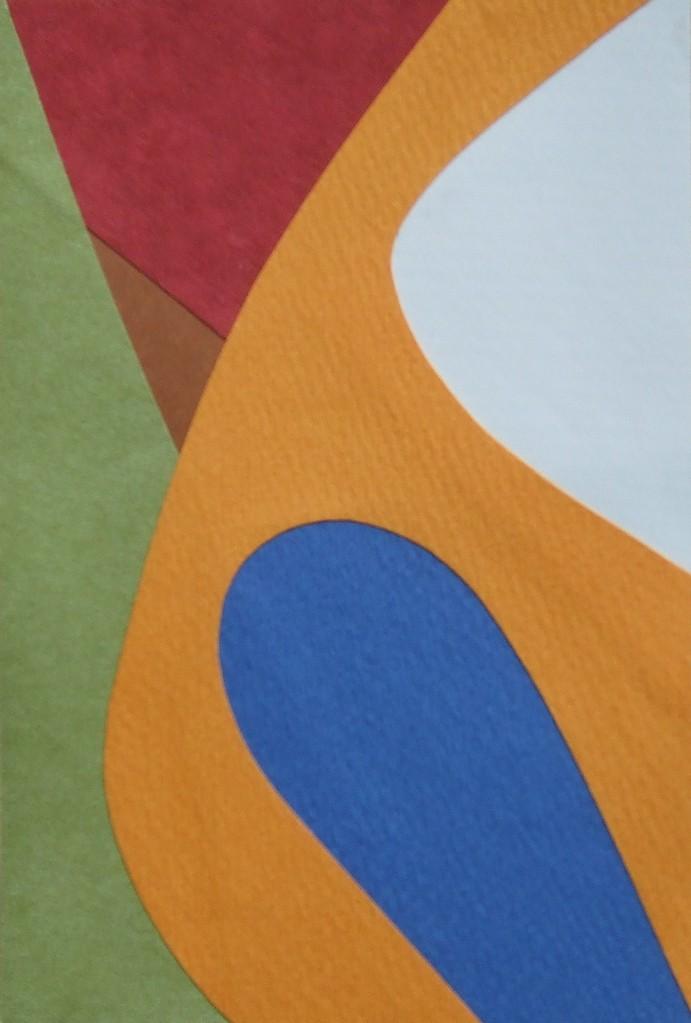 papier collé  127/1001  (150mmx100mm )   2012.10.30.  norio