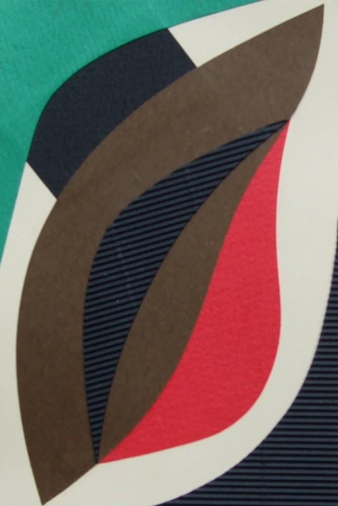 papier collé  157/1001  (150mmx100mm )   2012.11.10.  norio