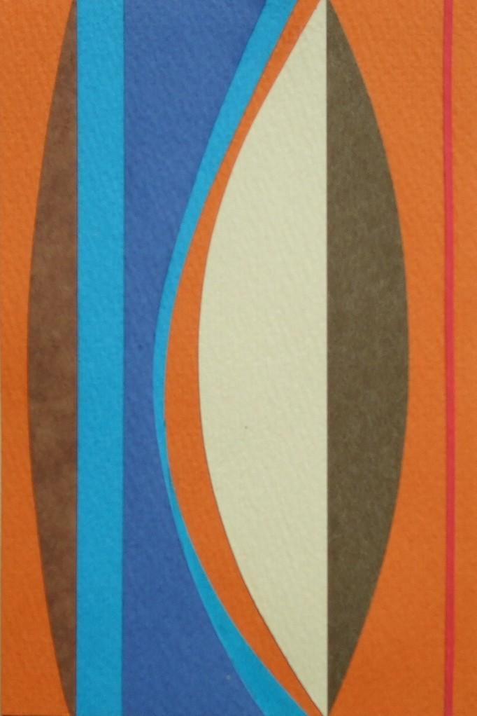 papier collé  168/1001  (150mmx100mm )   2012.11.16.  norio