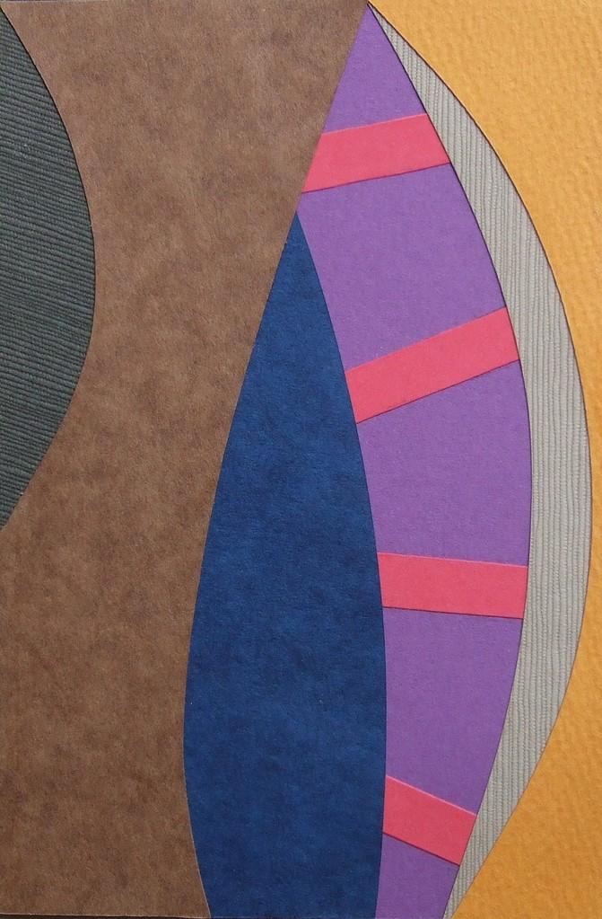 papier collé  095/1001  (150mmx100mm )   2012.10.23.  norio