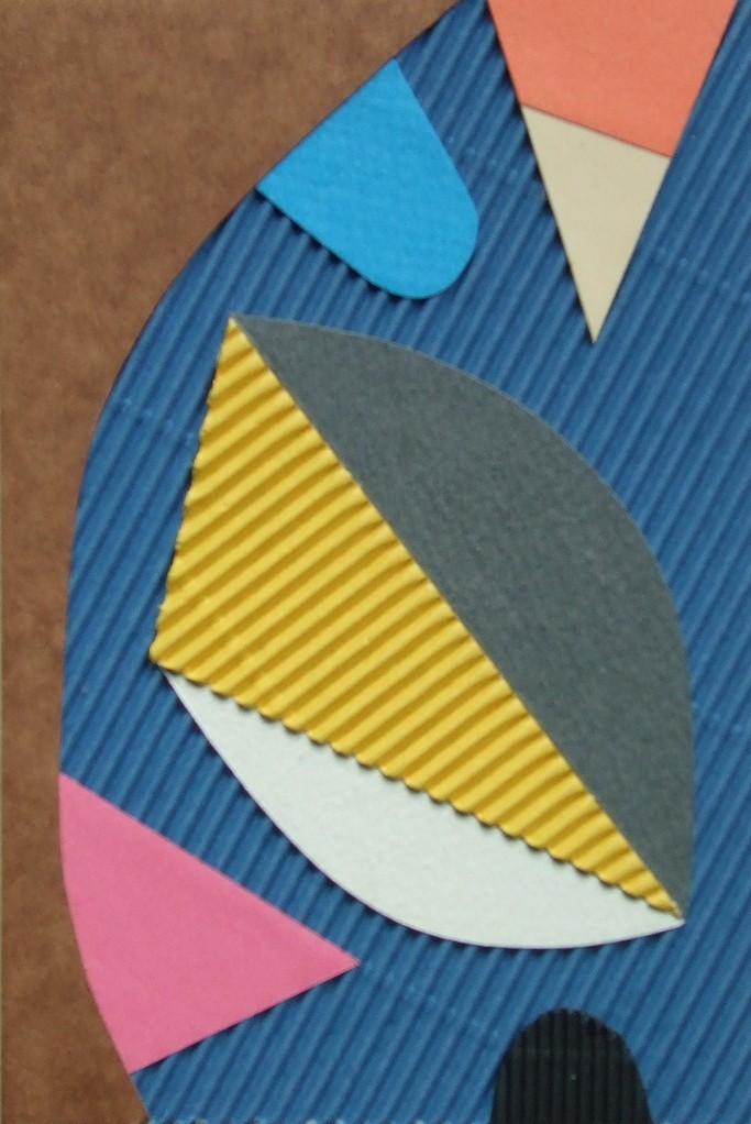 papier collé  142/1001  (150mmx100mm )   2012.11.04.  norio