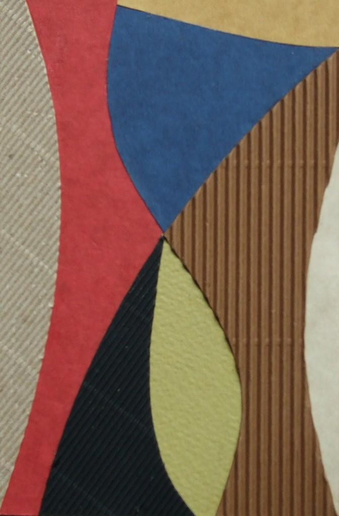 papier collé  114/1001  (150mmx100mm )   2012.10.27.  norio