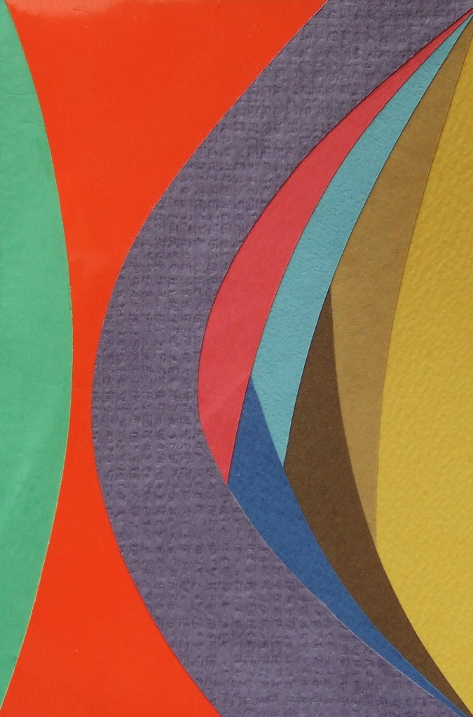 papier collé  222/1001  (150mmx100mm )   2013.01.08.  norio