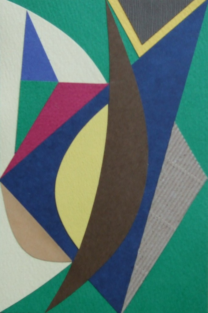 papier collé  102/1001  (150mmx100mm )   2012.10.24.  norio