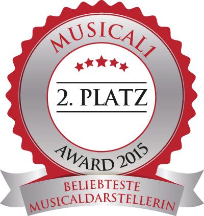Nominierung von den Musical1.de - Lesern! Danke