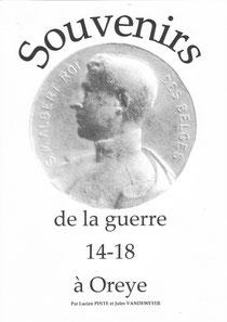 Souvenirs de la guerre 14-18 à Oreye (avec Lucien PINTE)