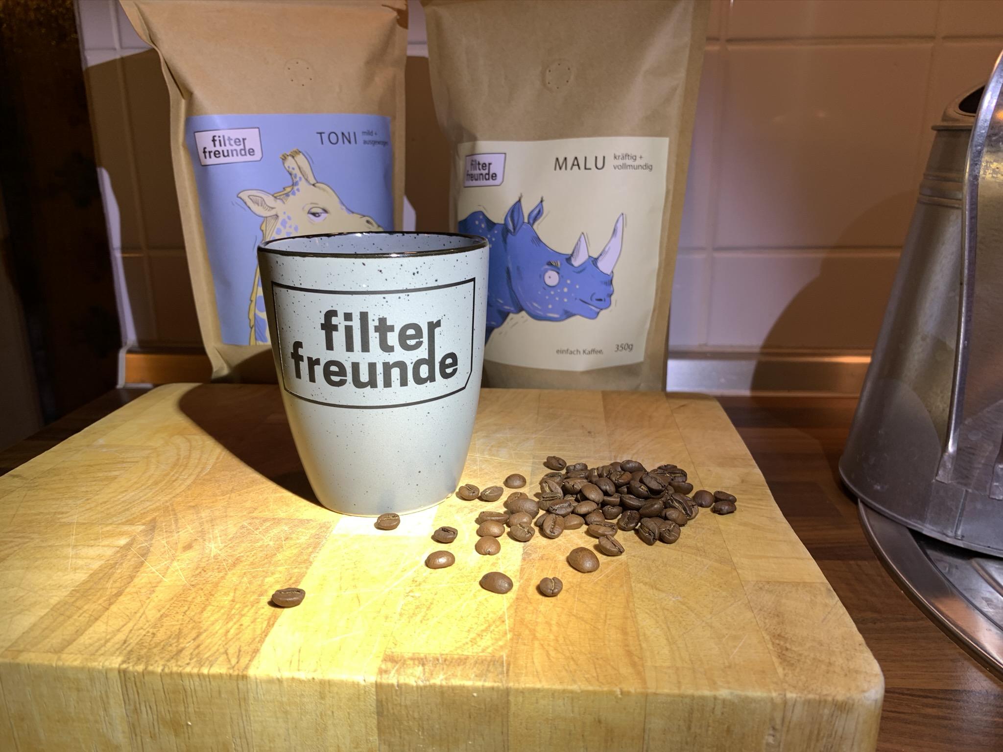 ...zum Schluss lecker Kaffee von den Filterfreunden.