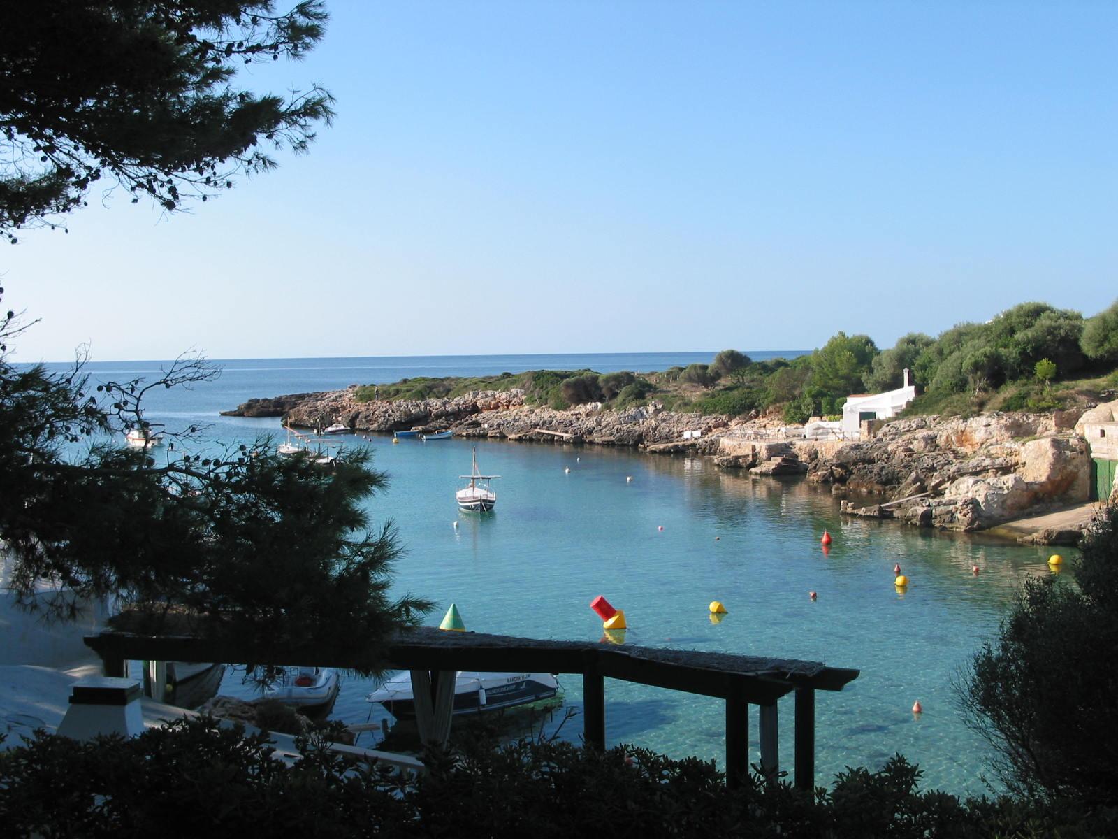 Buchten an der Ostküste Mallorcas, Ankerplatz