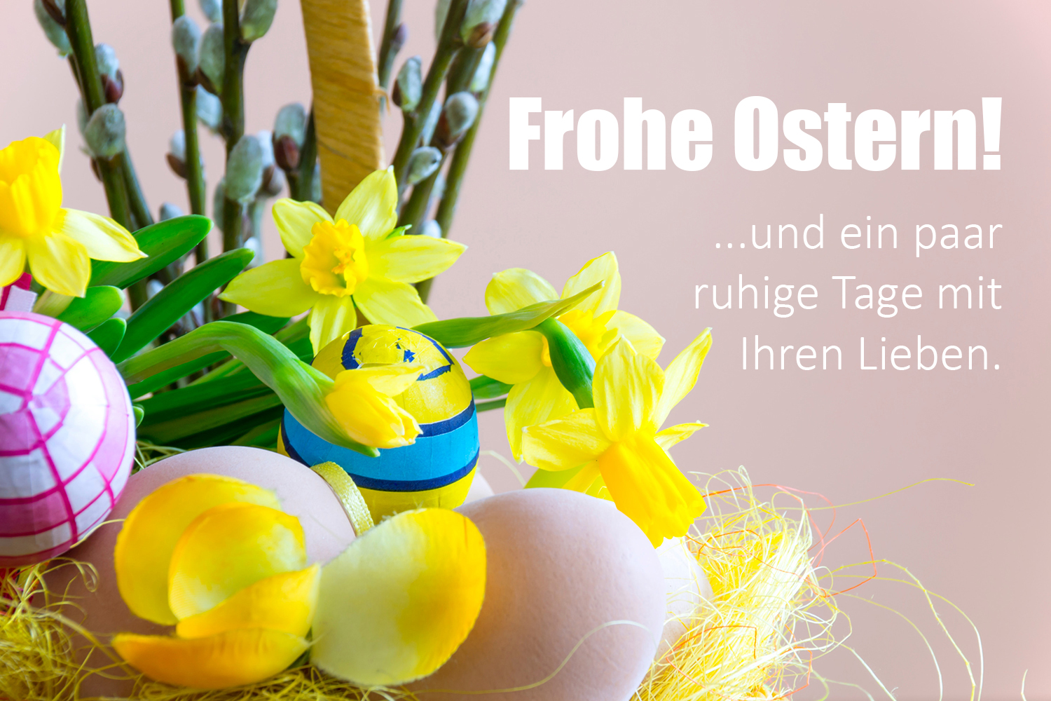 Peter Hollo: Frohe Ostern!