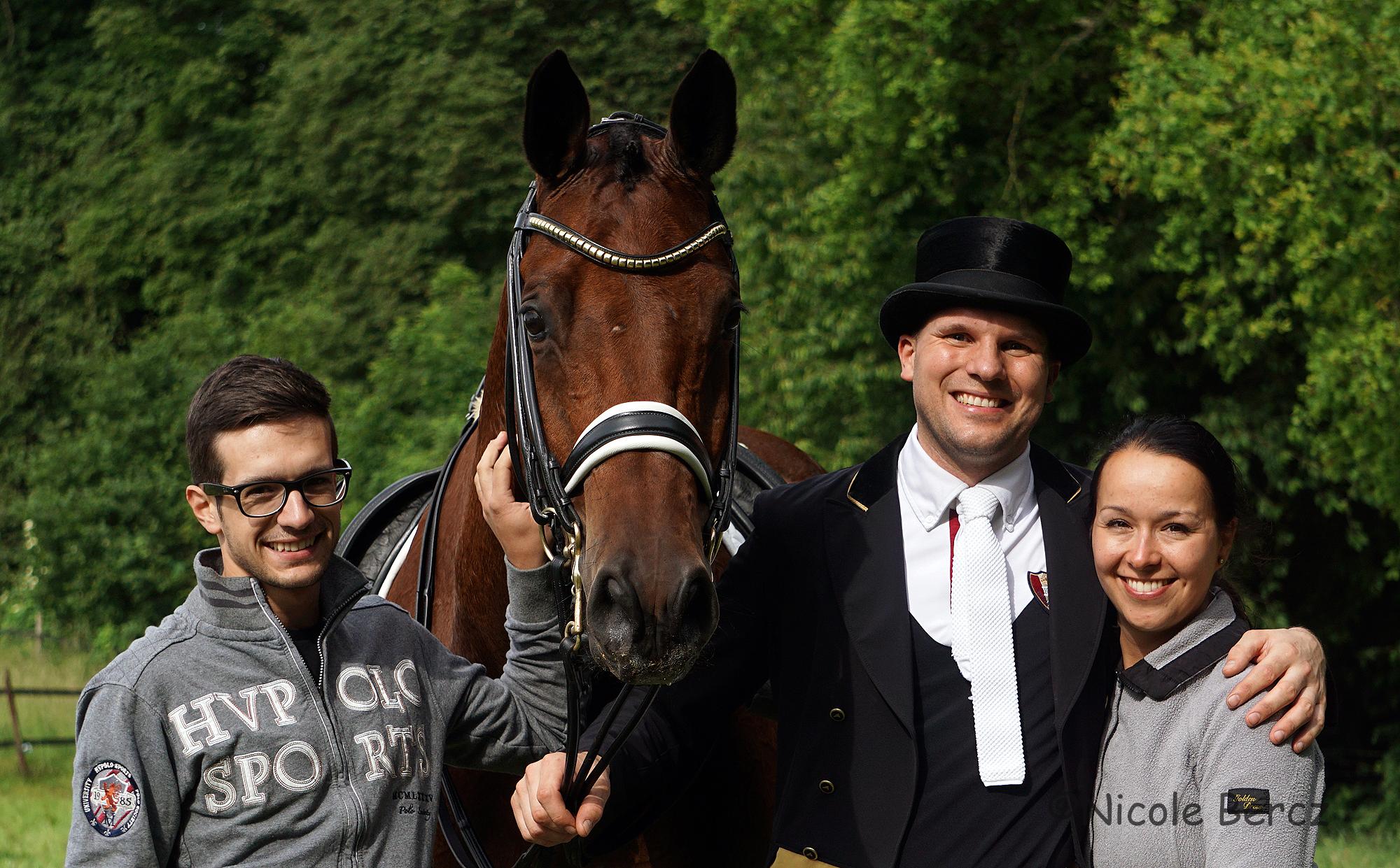 Vicent, Acoeur, Matthias und Maja