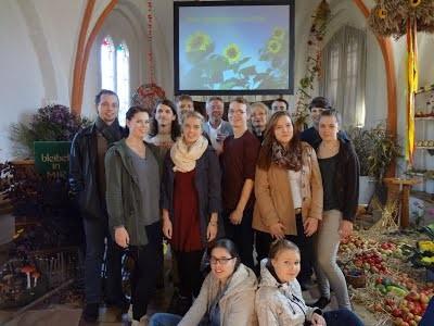 Erntedankfest in der Kirche zu Slate
