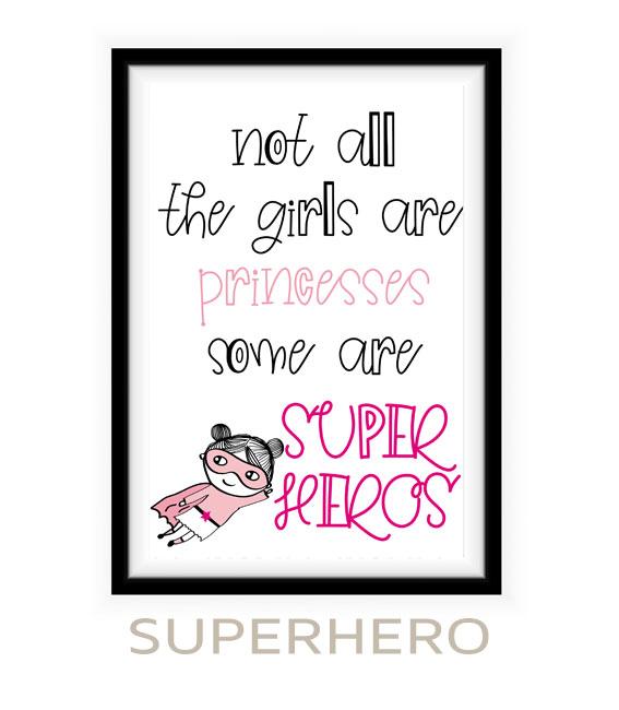 Poster Superhero