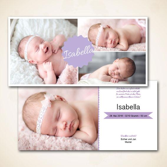 online Shop für moderne Geburtskarten