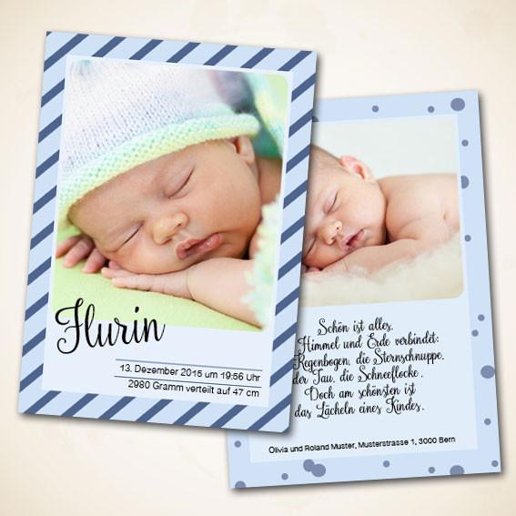 Geburtskarten online bestellen