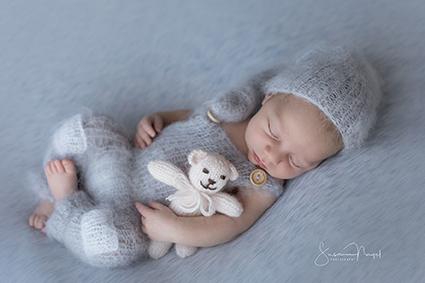 Baby Foto Karte zur Geburt