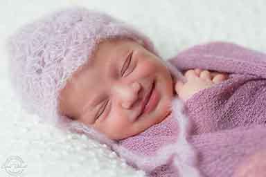 Babykarte für Mädchen