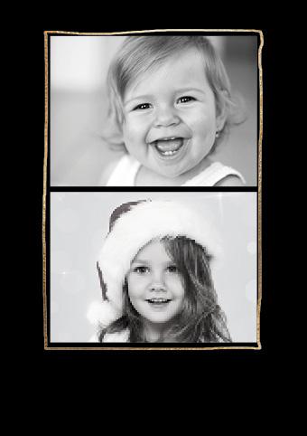 weihnachtskarte modern