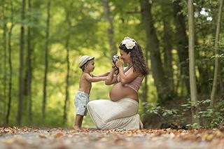 Geburtskarte mit Foto